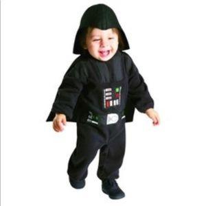 Darth Vadar child costume new complete set 2-3T
